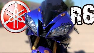 YAMAHA YZF-R6 (2006) 😍|Test Ride|