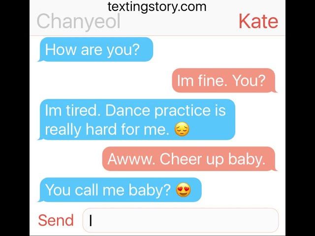 TEXT STORY (CHANYEOL &SUHO)