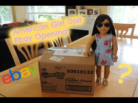 Opening My NEW American Girl Doll From Ebay!!