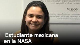 Estudiante mexicana diseña helicóptero que usarán en misión a Marte - Despierta con Loret