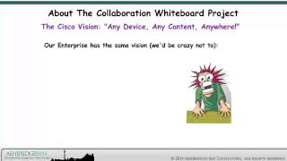 about the whiteboard collaboration project