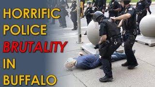 Buffalo Cop Aaron Torgalski Pushes Elderly Man who then bleeds from head