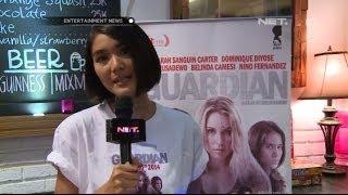 Dominique Diyose promo Film Guardian di radio