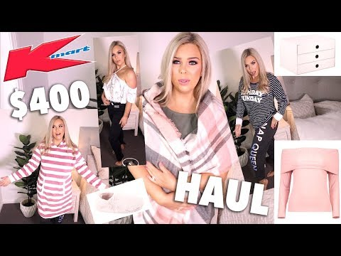 I SPENT $400 AT KMART... AND IT WAS AMAZING! KMART HAUL