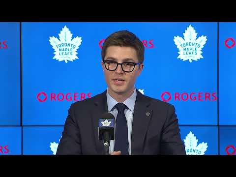 Kyle Dubas Press Conference - May 11, 2018