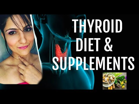 Complete THYROID diet Plan + Thyroid SUPPLEMENTS (Cure Dry Hair & Fatigue)