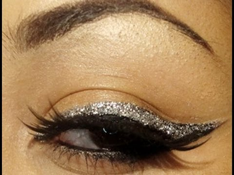 Image result for glitter eye liner