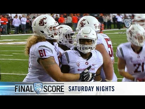 Highlights: Washington State football holds strong against Oregon State, 35-31