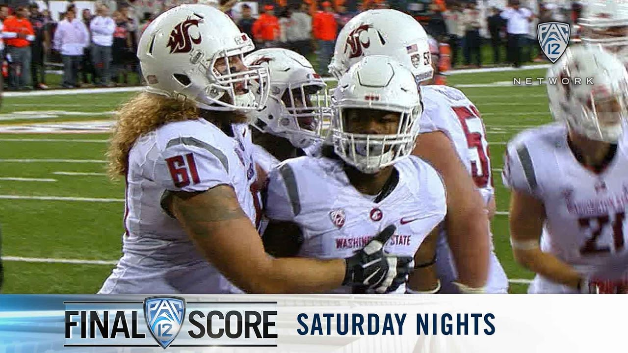 Oregon State Beavers at Washington State Cougars football: Sneak ...