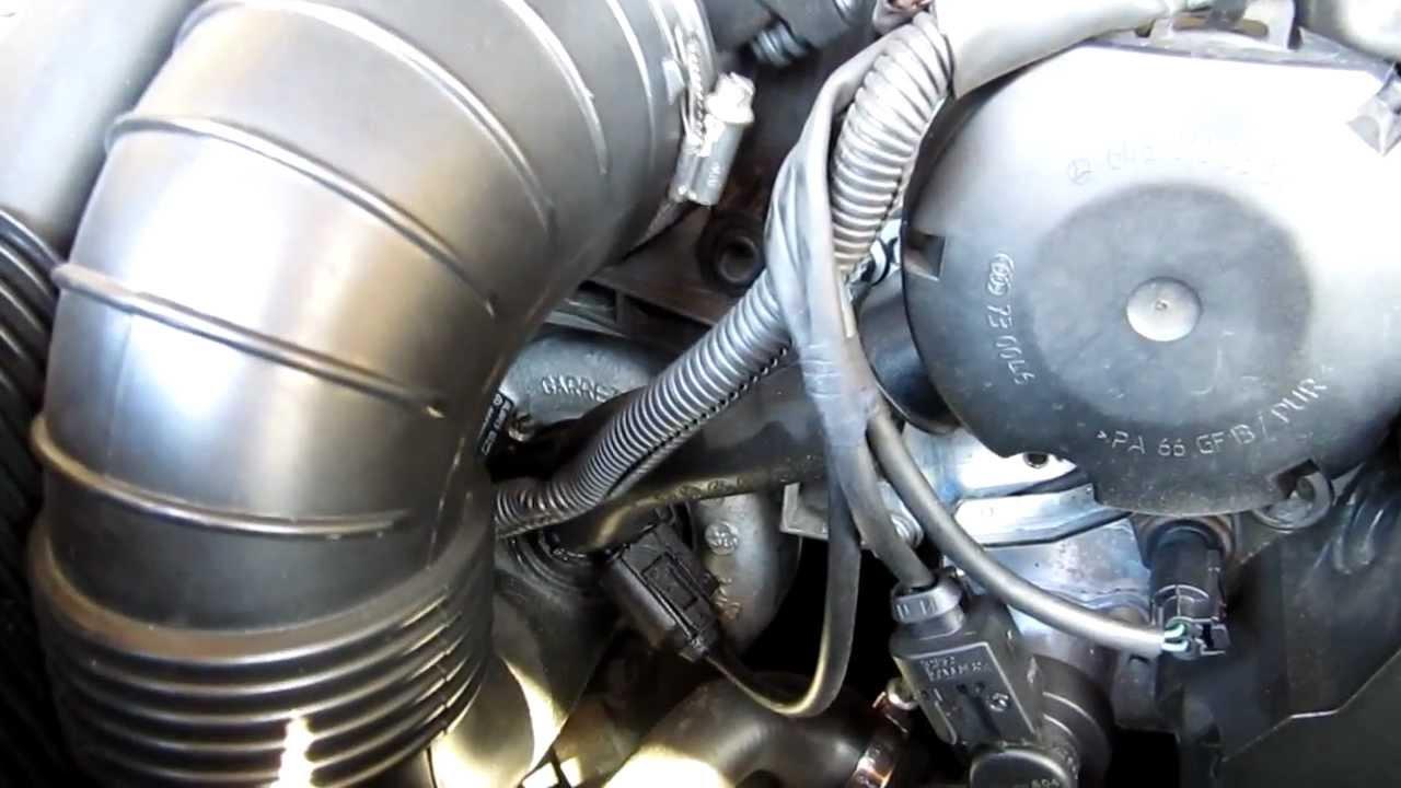 Mercedes E270 cdi turbo sound