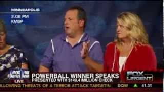 Powerball Winner Paul White Hilarious Press Conference After Winning $149 million Prize [Full]