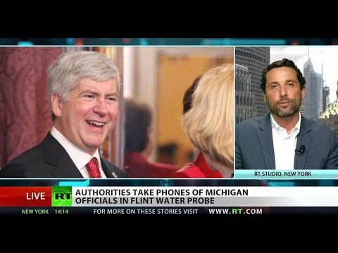 Former Michigan gov's cell phone seized in Flint investigation