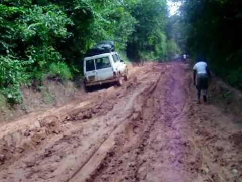 Mud driving West Africa...what a daily challenge!