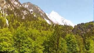 Wanderung Oberstdorf durch das Trettachtal nach Spielmannsau