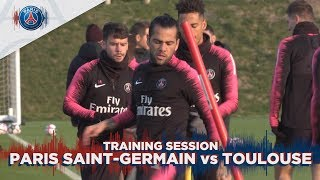 TRAINING SESSION - PARIS SAINT-GERMAIN vs TOULOUSE
