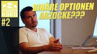 Abzocke?! Binäre Optionen und die Broker