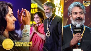 Rajamouli & his Wife's First Ever Cute Couple Ramp Walk - Anushka Captures the Moment | BGM 2018