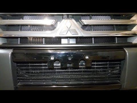Как разобрать решетку радиатора
