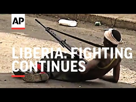 LIBERIA: FIGHTING CONTINUES AS INTERNATIONAL AID THREATENS T