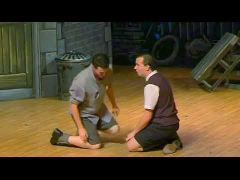blood brothers eddie and mickey meet script letters