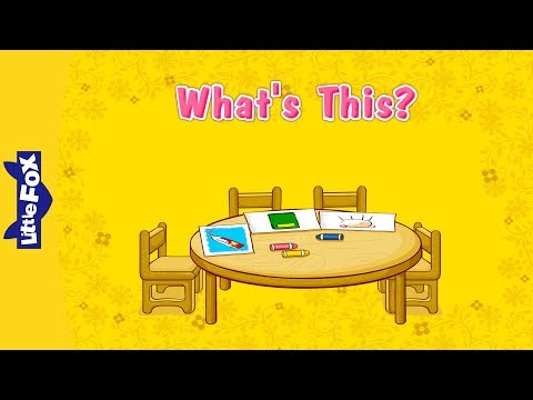 What's This? | Learn English for Kids Song by Little Fox