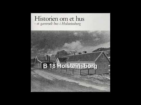 Et gammelt hus i Holsteinsborg