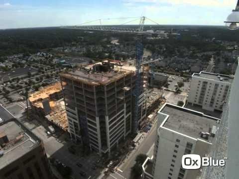 Clark Nexsen's new office tower at Virginia Beach Town Center