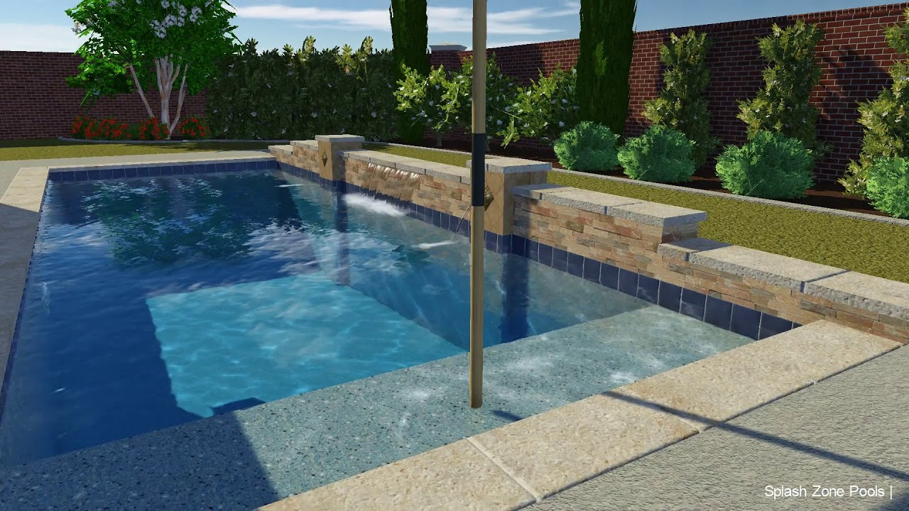 Vip3D 3D Swimming Pool Design Software YouTube