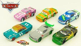 Disney Cars Ouverture de 6 Voitures Jouet Jouet Toy Review Flash McQueen Youtube Kids