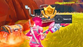 "SEASON 6 WEEK 9 SECRET Battle Star Location "" Free Tier Battle pass "" - Fortnite Battle Royale"