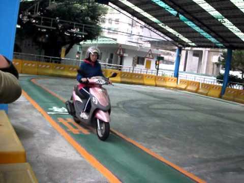 板橋監理站-考機車路考 - YouTube