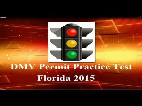 DMV Permit Practice Test In Florida Part 1 Driving Licence Questions And Answers