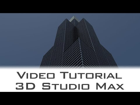 Tutorial - 3D Studio Max - Modelling the Willis Tower - Architectural Workflow Series
