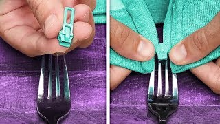 29 GREAT HOUSEHOLD TRICKS WITH FORK AND SPOON THAT MIGHT BE USEFUL