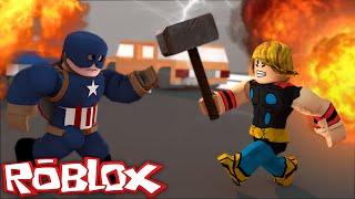 ROBLOX: BATTLE OF HEROES! -Classic Marvel Heroes