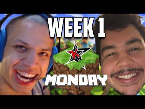 Tyler1 & Greek: Minecraft Monday VOD (WEEK 1)