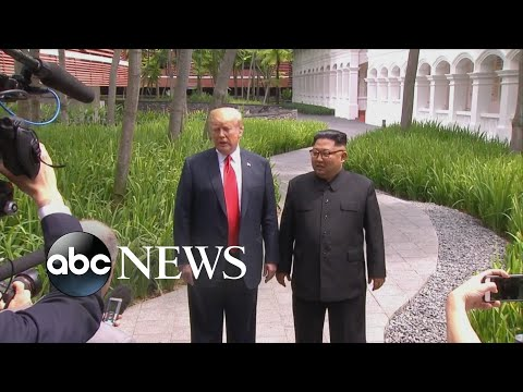 Trump says meeting with Kim Jong Un was 'top of the line'