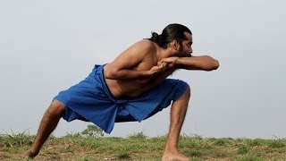 Kalaripayattu training-Animal postures part 5 -Kalari fight,basics,exercise,techniques