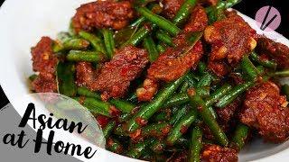 My FAV Pad Prik King Thai Red Curry Stir-fried Green Beans
