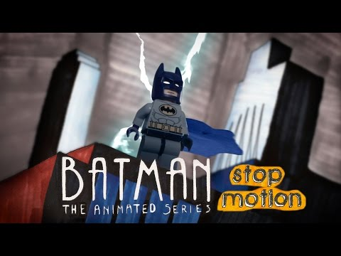 LEGO Batman The Animated Series: Stop Motion Intro ᴴᴰ