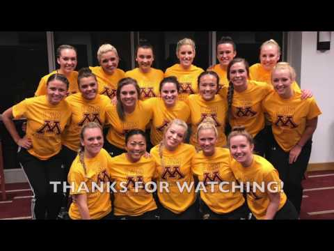 Introducing the 2017-2018 University of Minnesota Dance Team