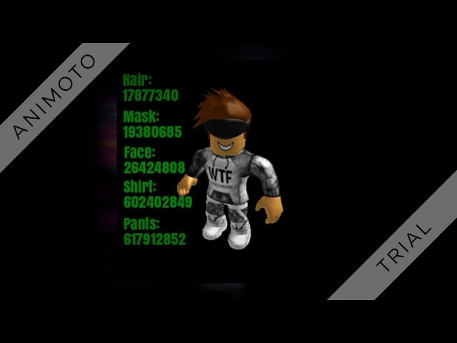 roblox high school boy outfit codes
