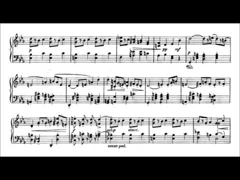 Jaroslav Ježek - Dance of the marionette (audio + sheet music)