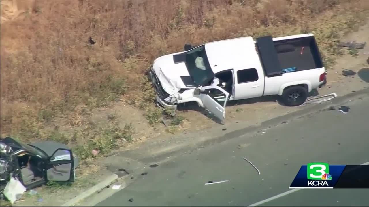 Man Arrested In I-80 Crash That Killed CHP Officer, Another Sriver