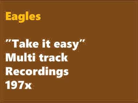 Eagles /Take It Easy (demo version) Studio 9 track raw multitrack recording