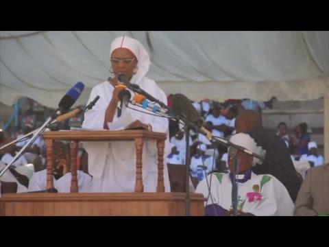 First Lady, Grace Mugabe's speech  at churches' interface held at Rufaro Stadium  #263Chat