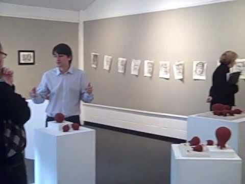Goce Davidov - Art Exhibition at Dana Hall 12/12/12