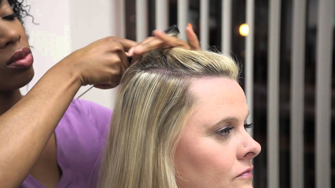 How To Make Blonde Extensions Look Like Highlights Professional