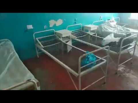 В таких условиях на Украине находятся люди с подозрением на коронавирус. Винницкая больница.