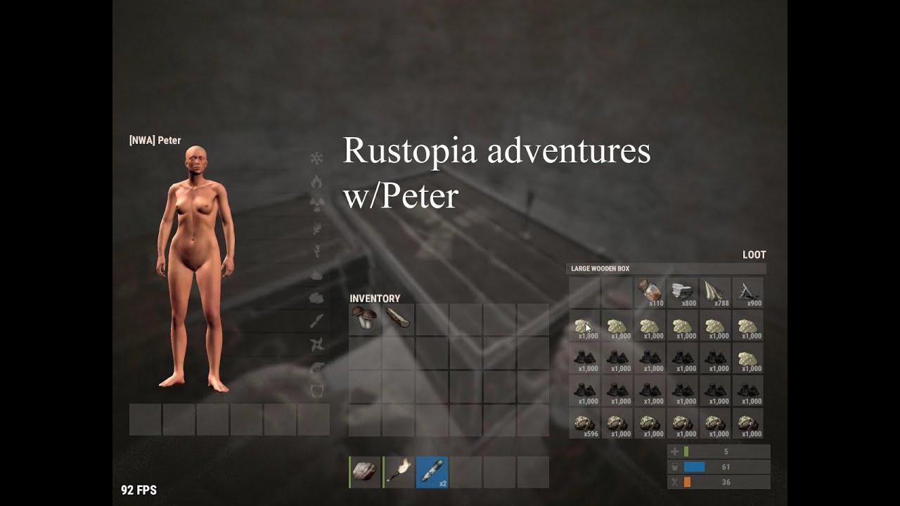 RUST Rust Adventures WPeter YouTube - Rustopia us map